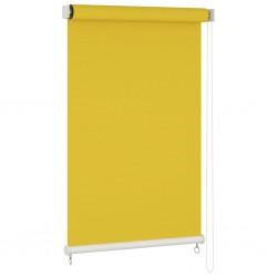 vidaXL Biombo divisor plegable 120x170 cm plumas blanco y negro