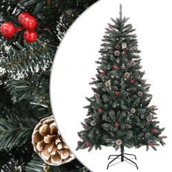 vidaXL Armario taquilla con perchero metal 110x45x180 cm azul y gris