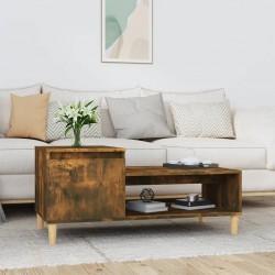 vidaXL Set de mesas de centro 2 piezas madera teca reciclada hexagonal