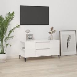 vidaXL Mesa de centro de madera maciza de acacia 100x50x30cm marrón
