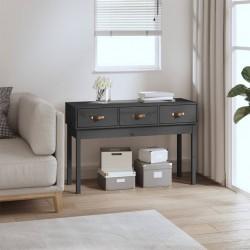 vidaXL Mesa de centro de madera maciza de acacia 80x80x41 cm marrón