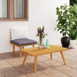 vidaXL Mueble para la TV madera de sheesham acabado miel 118x30x40 cm