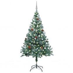 vidaXL Juego de mesas de centro 2 piezas madera reciclada y acero