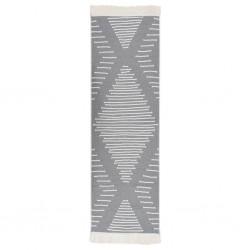 vidaXL Juego de mesas de centro 3 piezas madera de mango maciza
