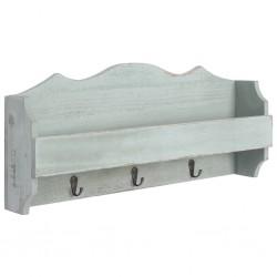 vidaXL Mesita de noche de madera maciza de mango 40x30x49 cm