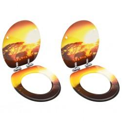 vidaXL Sillón de cuero auténtico con madera de acacia negro