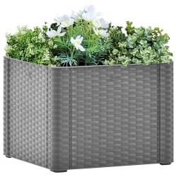 Mesa camilla de masaje de madera plegable de 4 cuerpos, blanco crema