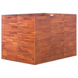 Mesa camilla de masaje de aluminio plegable de cuatro cuerpos azúles