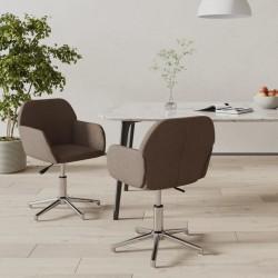 vidaXL Funda elástica para mesa 2 uds 120x60,5x74 negro