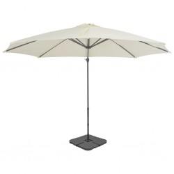 Mesa camilla de masaje de aluminio plegable de cuatro cuerpos rojos