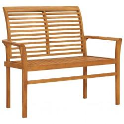 vidaXL Estantería de cuarto de baño 100x40x65cm madera maciza de nogal
