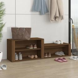vidaXL Mesa de centro de madera maciza 50x50x33,5 cm