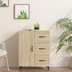 vidaXL Mesa de centro 110x50x35 cm madera maciza de sheesham gris
