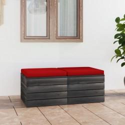 vidaXL Estantería madera maciza reciclada 60x35x180 cm