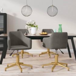 vidaXL Banco con compartimento 105 cm verde de terciopelo