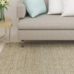 vidaXL Banco con compartimento 105 cm beige de terciopelo