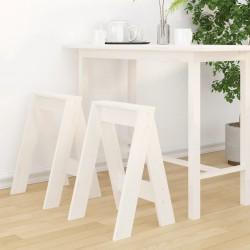 vidaXL Mueble zapatero de madera maciza de nogal 55x20x104 cm