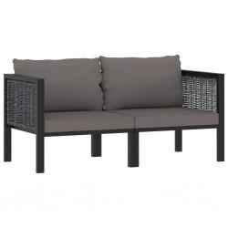 vidaXL Estantería para el baño de madera maciza de nogal 65x40x55 cm