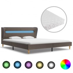 vidaXL Mesita de noche madera maciza de mango blanca 40x30x50 cm