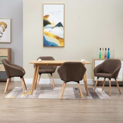 vidaXL Mesita de noche de madera maciza de acacia blanca 40x30x50 cm