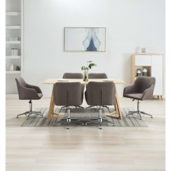 vidaXL Bolso estilo shopper beige 41x63 cm lona y cuero real