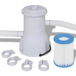 vidaXL Bolso estilo shopper marrón 41x63 cm lona y cuero real