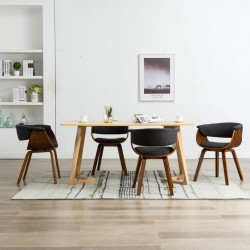 vidaXL Mesa de centro de madera maciza reciclada 60x60x35 cm