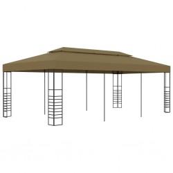 vidaXL Mueble para TV con 3 cajones 110x35x50 cm madera maciza acacia