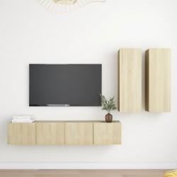 vidaXL Banco de madera maciza reciclada 160 cm