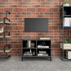 vidaXL Mesa de centro 100x55x30 cm madera maciza de sheesham gris