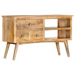 vidaXL Baúl de almacenamiento de madera maciza de sheesham 80x40x40 cm