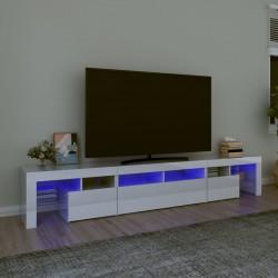 vidaXL Sillón con diseño de cubo cuero sintético blanco