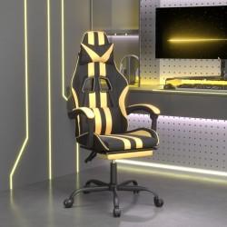 vidaXL Set de sillón con taburete reposapiés 2 piezas tela marrón
