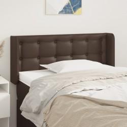 vidaXL Sillón con diseño de cubo y reposapiés cuero sintético gris