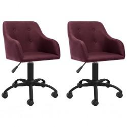 vidaXL Sillón con diseño de cubo con reposapiés cuero sintético rojo