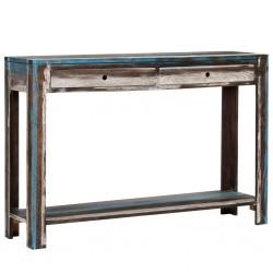 vidaXL Sillón con diseño de cubo cuero sintético negro