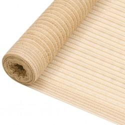 vidaXL Sillón con diseño de cubo cuero sintético dorado brillo