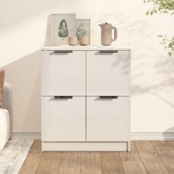 vidaXL Mesa de centro 115x60x40 cm madera maciza reciclada