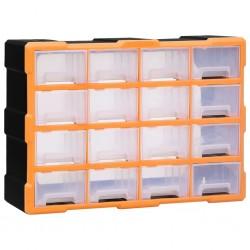 vidaXL Biombo divisor de 4 paneles de tela gris 160x170x4 cm