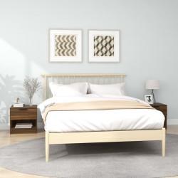 vidaXL Biombo divisor de 4 paneles de tela marrón 160x170x4 cm
