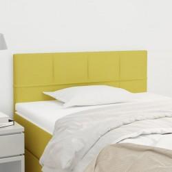 vidaXL Sillón masaje reclinable y reposapiés tela tacto de ante crema