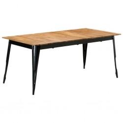 vidaXL Sillón reclinable con reposapiés cuero sintético marrón