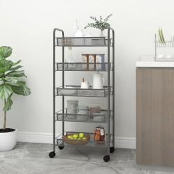 vidaXL Sillón reclinable con reposapiés de cuero sintético rojo