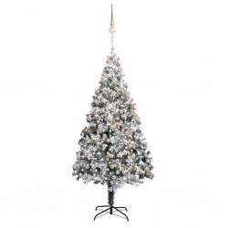 vidaXL Sillón de masaje reclinable y reposapiés cuero sintético negro