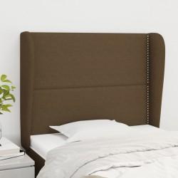 vidaXL Sillón reclinable para TV de cuero sintético marrón