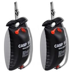 vidaXL Sillón de masaje reclinable con reposapiés tela gris oscuro