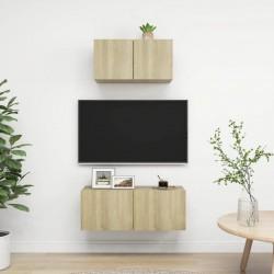 vidaXL Protector salpicaduras cocina vidrio templado negro 100x50 cm