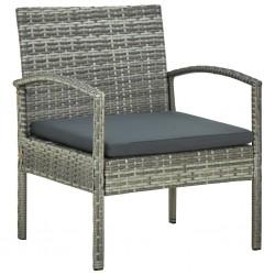 vidaXL Estantería de 2 niveles vidrio templado transparente 40x40x47cm
