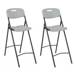 vidaXL Mesa plegable de masaje con 3 zonas 10 cm de grosor blanco