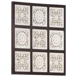 Conjunto de 2 buzones con soporte de acero inoxidable